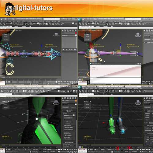 Digital Tutors - Character Rigging for Production in 3ds Max