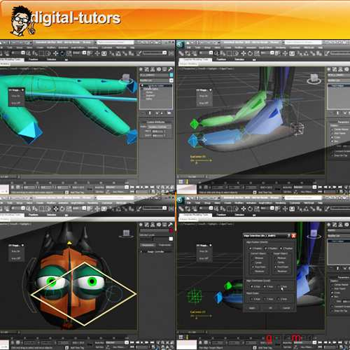 Introduction to Character Rigging in 3ds Max