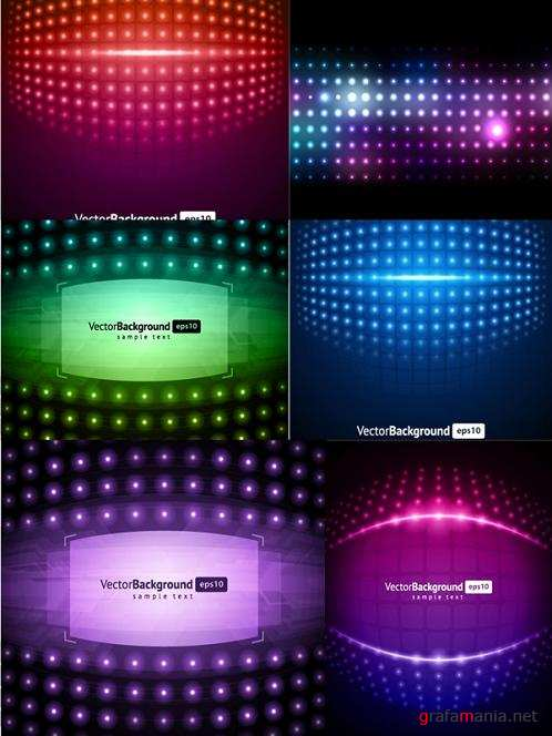 Set Vector Backgrounds