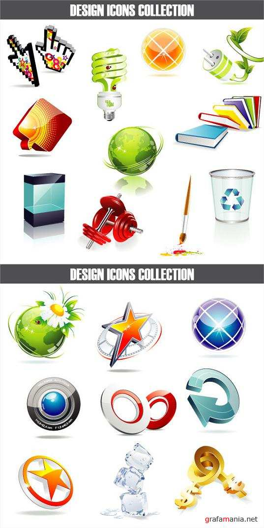 Design Icons Vector Collection