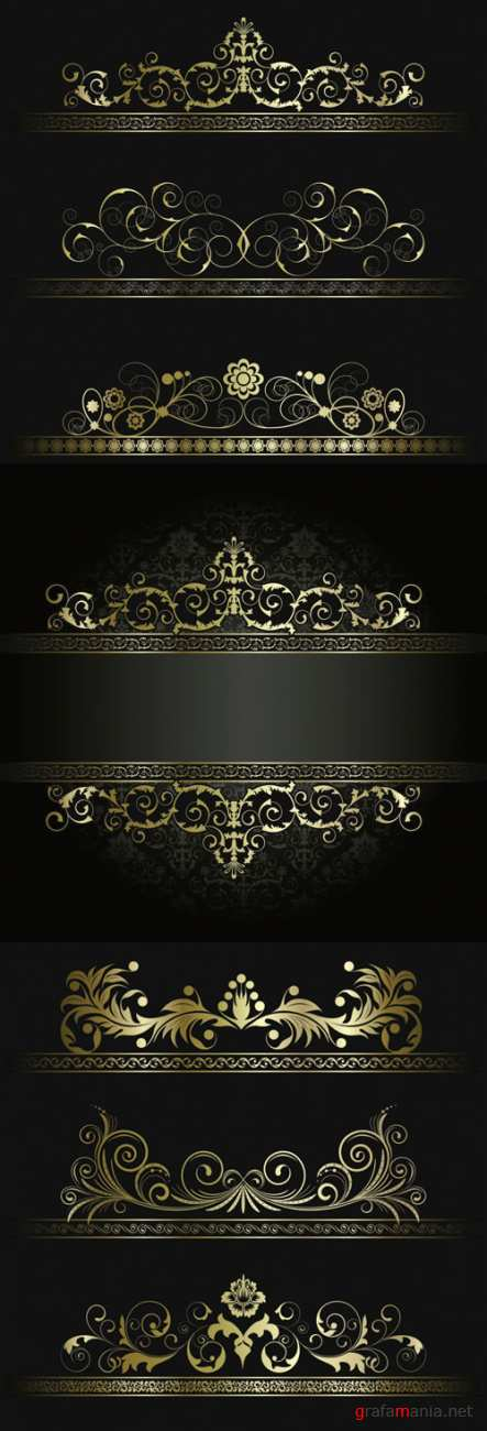 Collection of Vector Ornament