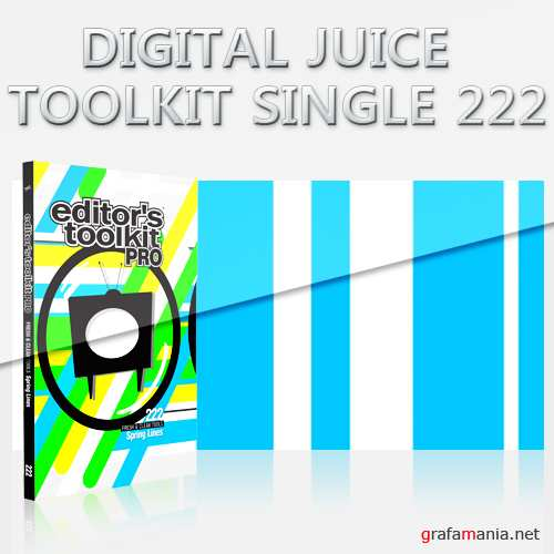 Digital Juice -  Editor's Toolkit Pro Single 222: Spring Lines
