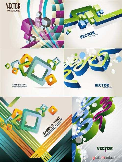 Geometric Vector Backgrounds