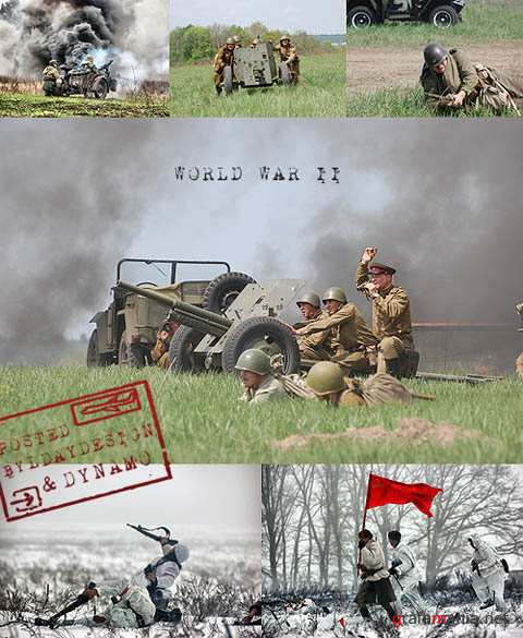 Stock Photo - World War II instalation