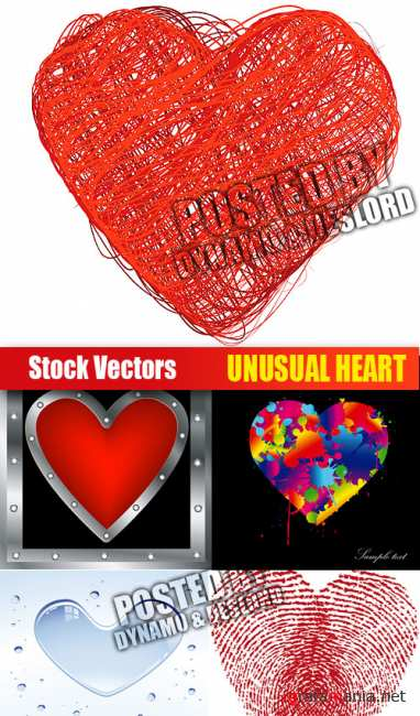 Stock Vectors - Unusual Heart