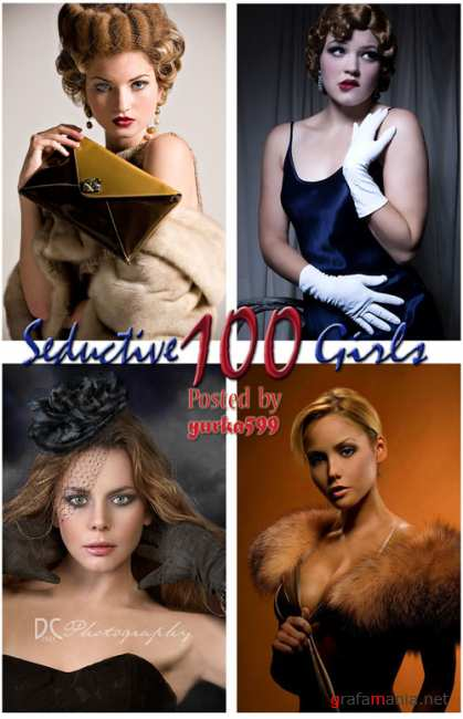 100 Seductive girls - Photoworks Collection