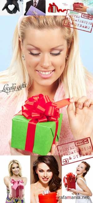Stock Photo - Lovely gifts