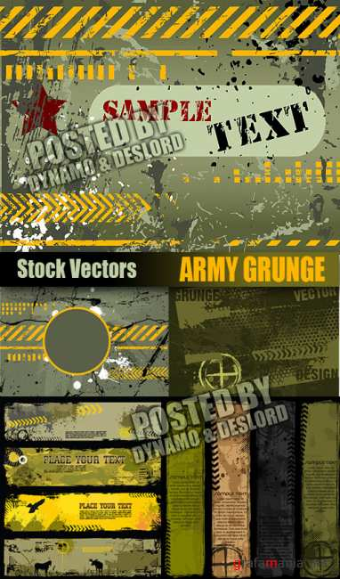 Stock Vectors - Army Grunge