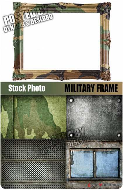 UHQ Stock Photo - Military Frame