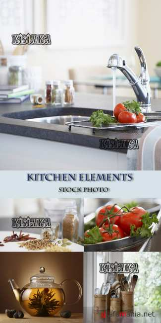 Кухня  Stock Photo: Kitchen elements