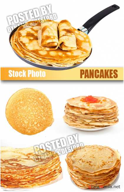 UHQ Stock Photo - Pancakes