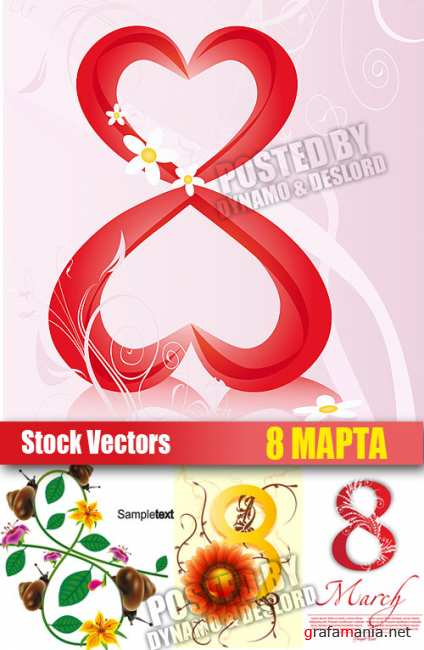 Stock Vectors - 8 March