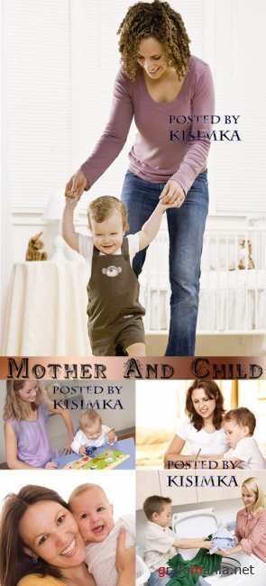 Мать и дитя 3  Stock Photo: Mother And Child 3