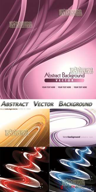 Абстрактный фон 8  Stock: Abstract Vector Background 8