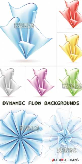 ������������ ���� ������  Stock: Dynamic Flow Backgrounds