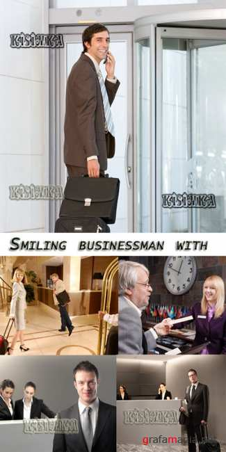 ����������� ���������  Stock Photo: Smiling businessman 7