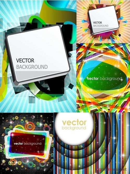 Vector Backgrounds Mix