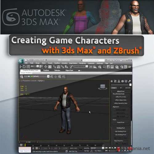 Digital Tutors - Creating Game Characters with 3ds Max 2011 and ZBrush