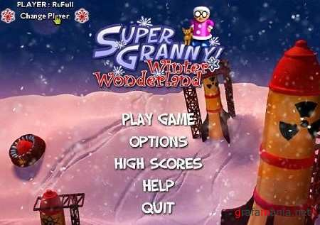 Super Granny Winter Wonderland / Супер бабуля (2011/PC/Full)