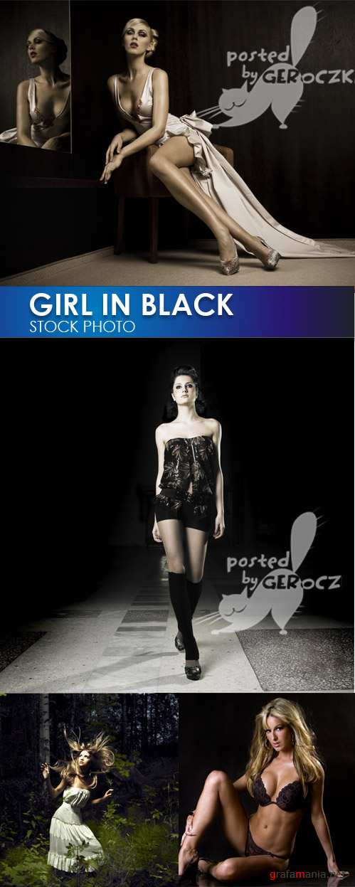 GIRL IN BLACK