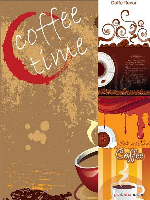 Coffee Flavor Backgrounds