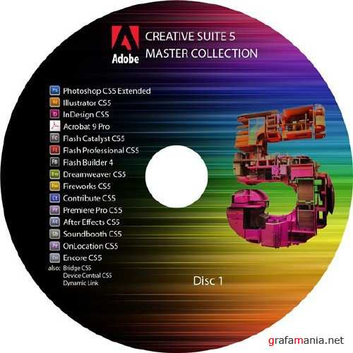Adobe Creative Suite 5 (Master Collection) + (Design Premium/Production Premium/Web Premium) Final
