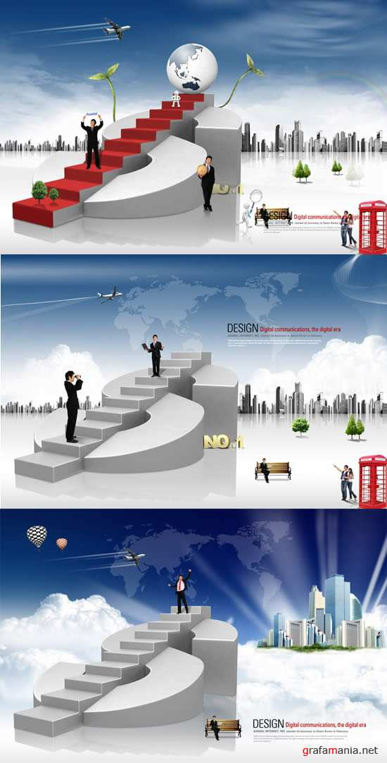 Career Ladder PSD