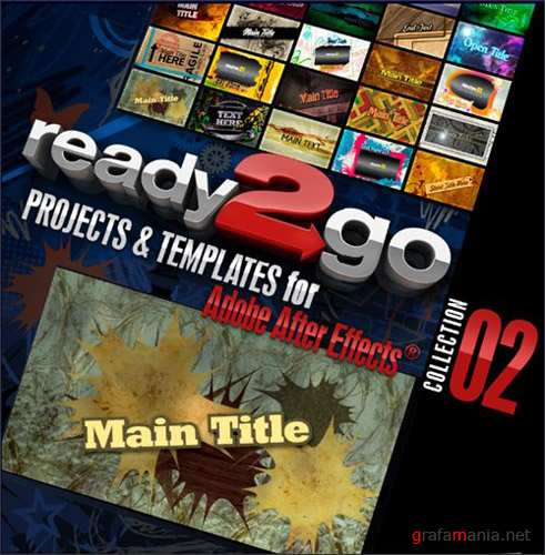 Digital Juice - Ready2Go: Projects & Templates for Adobe After Effects. Collection 02 (AE Projects)