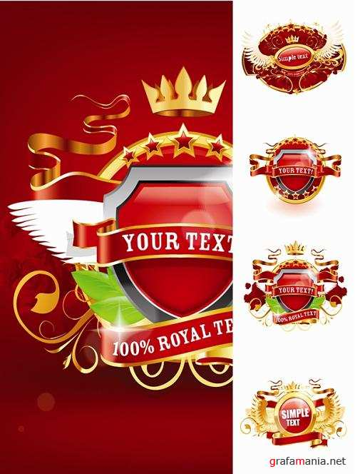 Royal Red Emblems