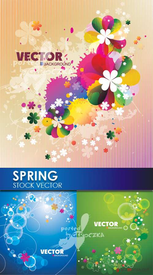Spring backgrounds 6