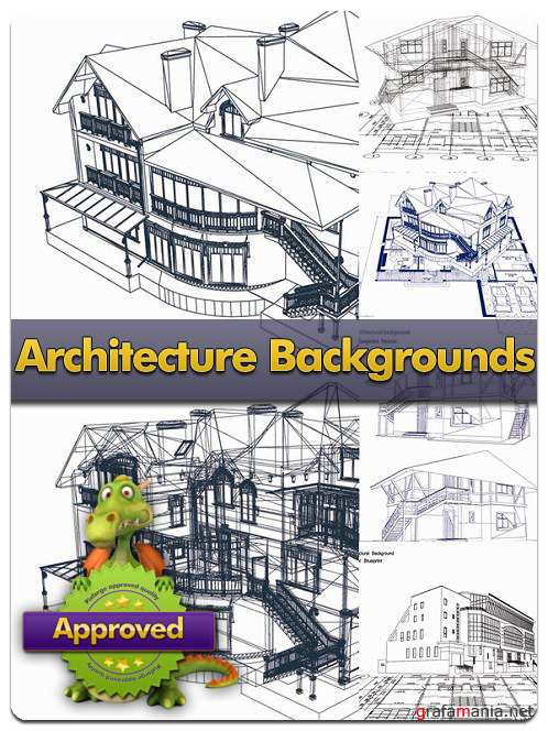 Architecture Backgrounds - Vector Stock