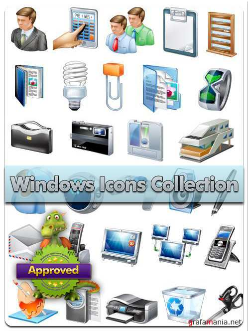 Windows Icons Collection