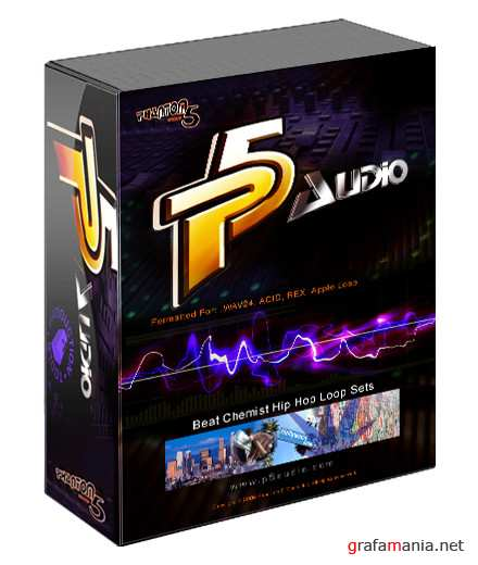 P5Audio Beat Chemist Hip Hop Loop Sets WAV New