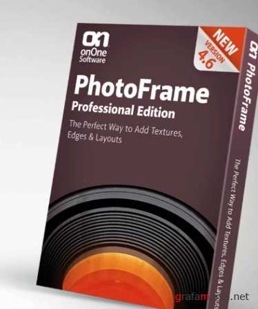 OnOne PhotoFrame 4.6.1 Professional Edition for Adobe Photoshop New