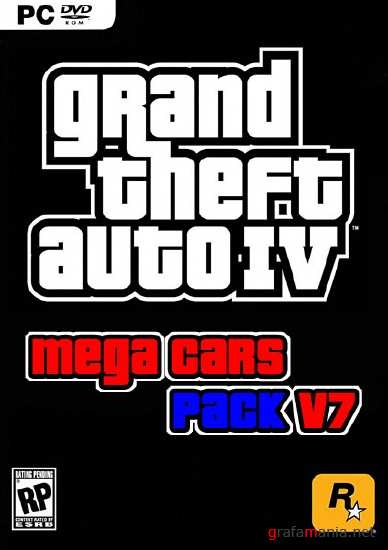 Grand Theft Auto IV Mega Cars Pack (2011/PC/Addon)
