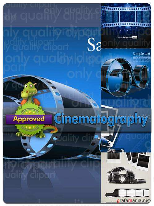 Cinematography - Vector Stock
