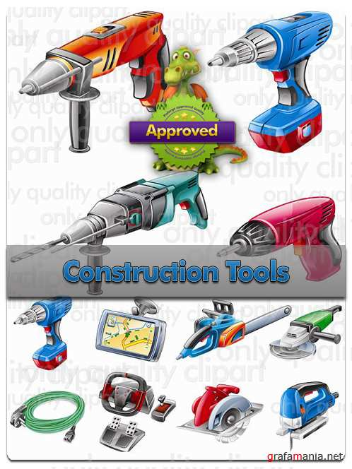 Construction Tools - Vector Stock