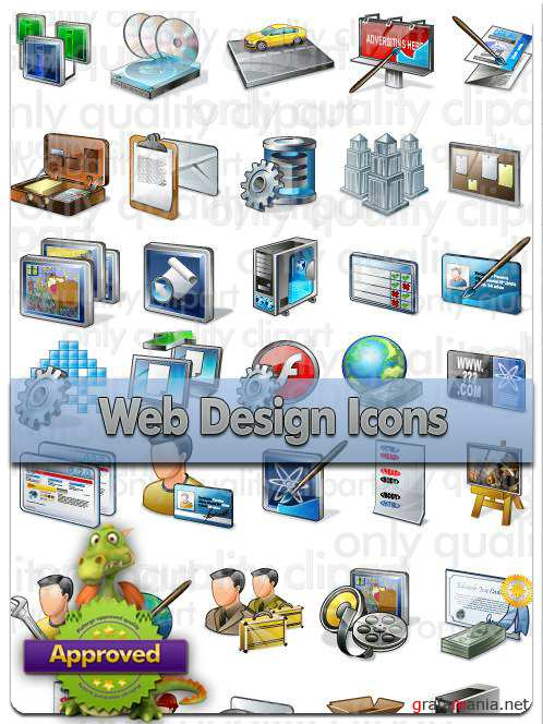 Web Design Icons - Vector Stock