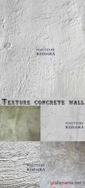 Текстура стены  Stock Photo: Texture concrete wall