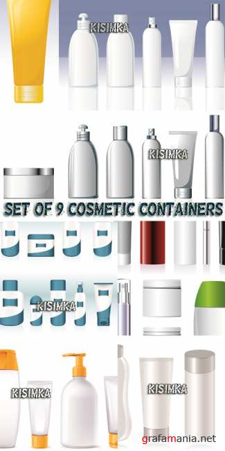 ������������� ����������  Stock: Set of Cosmetic Containers