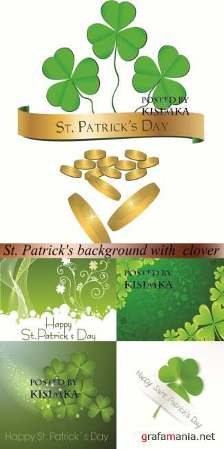 Vector: St. Patrick's background