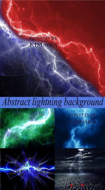 Stock Photo: Abstract lightning background