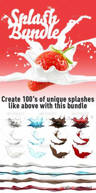 Splash Bundle - GraphicRiver
