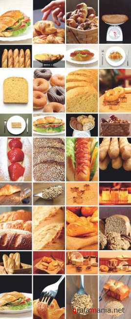 Clipart - Bread & Pastries