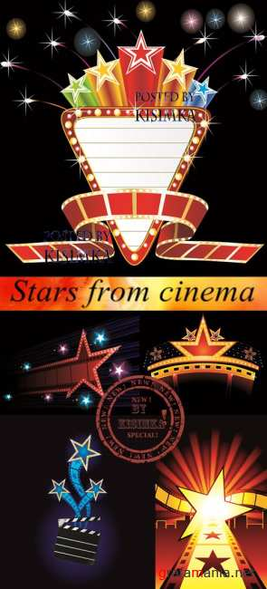 Stock: Stars from cinema