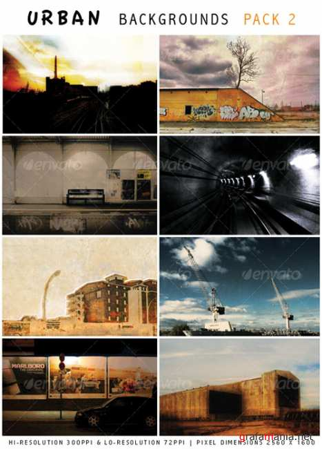 Urban Backgrounds 2 - GraphicRiver
