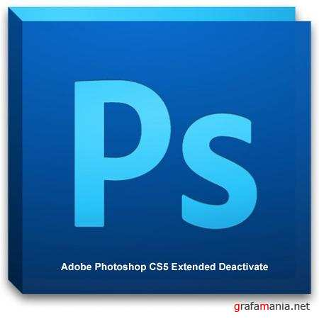 Adobe Photoshop CS5 Extended Deactivate New Updated