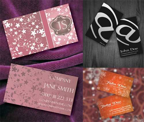 3 Elite Business Cards