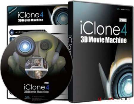 Reallusion iClone PRO v4.3.1929.1.In an additional set of materials [2011] New Updated Soft