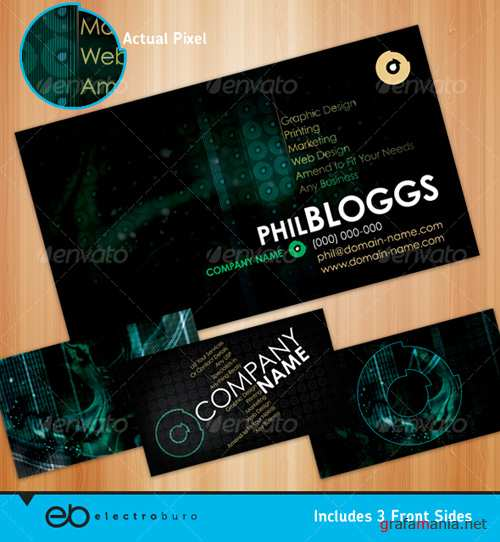 Dark Generic Business Card � GraphicRiver